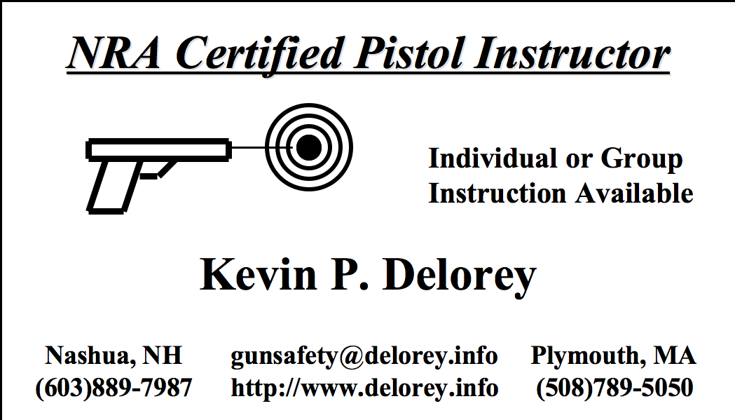 Nra Certified Pistol Instruction